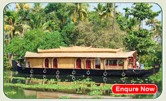 Alleppey Boat House Images