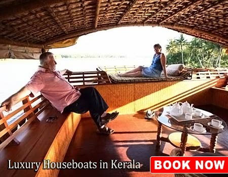 Luxury Houseboats in Kerala